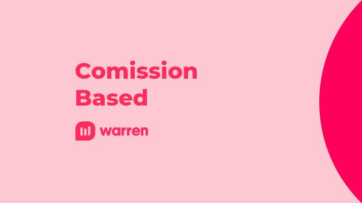 Comission Based modelo sem alinhamento com o cliente, ilustração