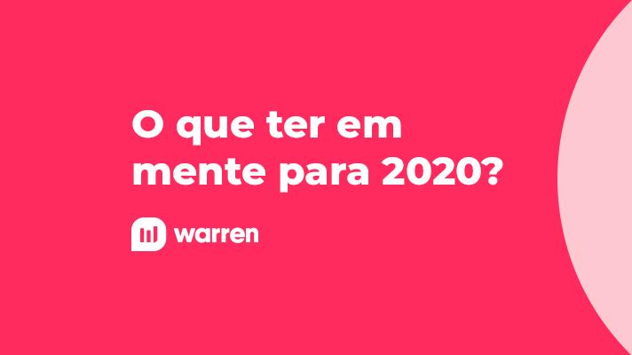O que ter em mente para 2020, ilustração